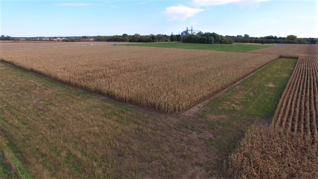 sustainable answer acre drone pic fall 2019