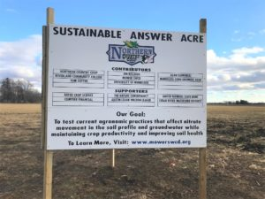 sustainable answer acre sign